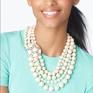 Kate Spade Belle Fleur Collar Statement Necklace